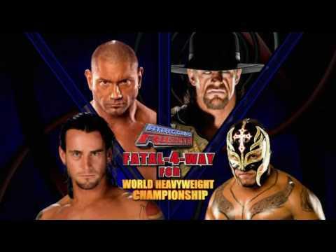 Rey mysterio and batista 2009