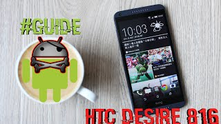 [GUIDE] Root, Add Custom Recovery & Unlock Bootloader - HTC One M7 M8 M9 Max & HTC Desire 816