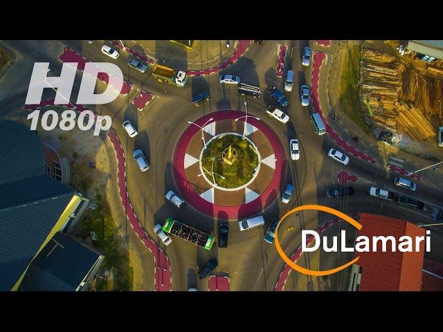 Drone flight: POI autopilot roundabout Koningstraat Suriname