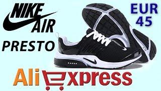 Обзор NIKE AIR PRESTO Кроссовки из Китая с AliExpress