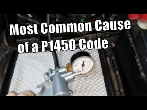 "Ford P1450 Fuel Tank Vacuum ""Most Common Cause"" & How to Test"