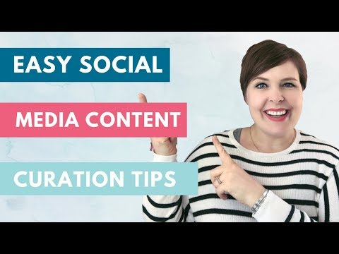 Social Media Content Ideas - EASY CONTENT CURATION TIPS!