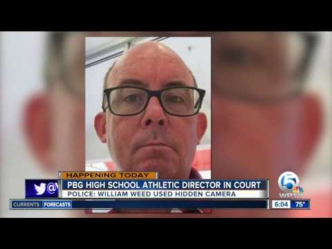 Former Palm Beach Gardens athletics director charged with using hidden camera