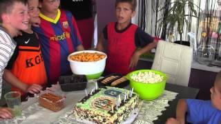 CZ3-Urodziny u Szabełków-Na Kruszyn Arenie-14.06.15-Turniej-Gutek Cup-Prezenty i Tort