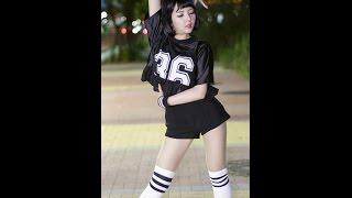 140730 단발머리 bob girls good night kiss 커버댄스 유정 직캠 by 메리