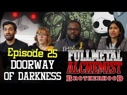Fullmetal Alchemist Brotherhood - Episode 25 Doorway of Darkness - Group Reaction