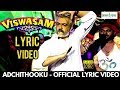 VISWASAM - Adchithooku Song Lyric Video Reaction | Thala Ajith | Adchithooku Lyric Video | Viswasam