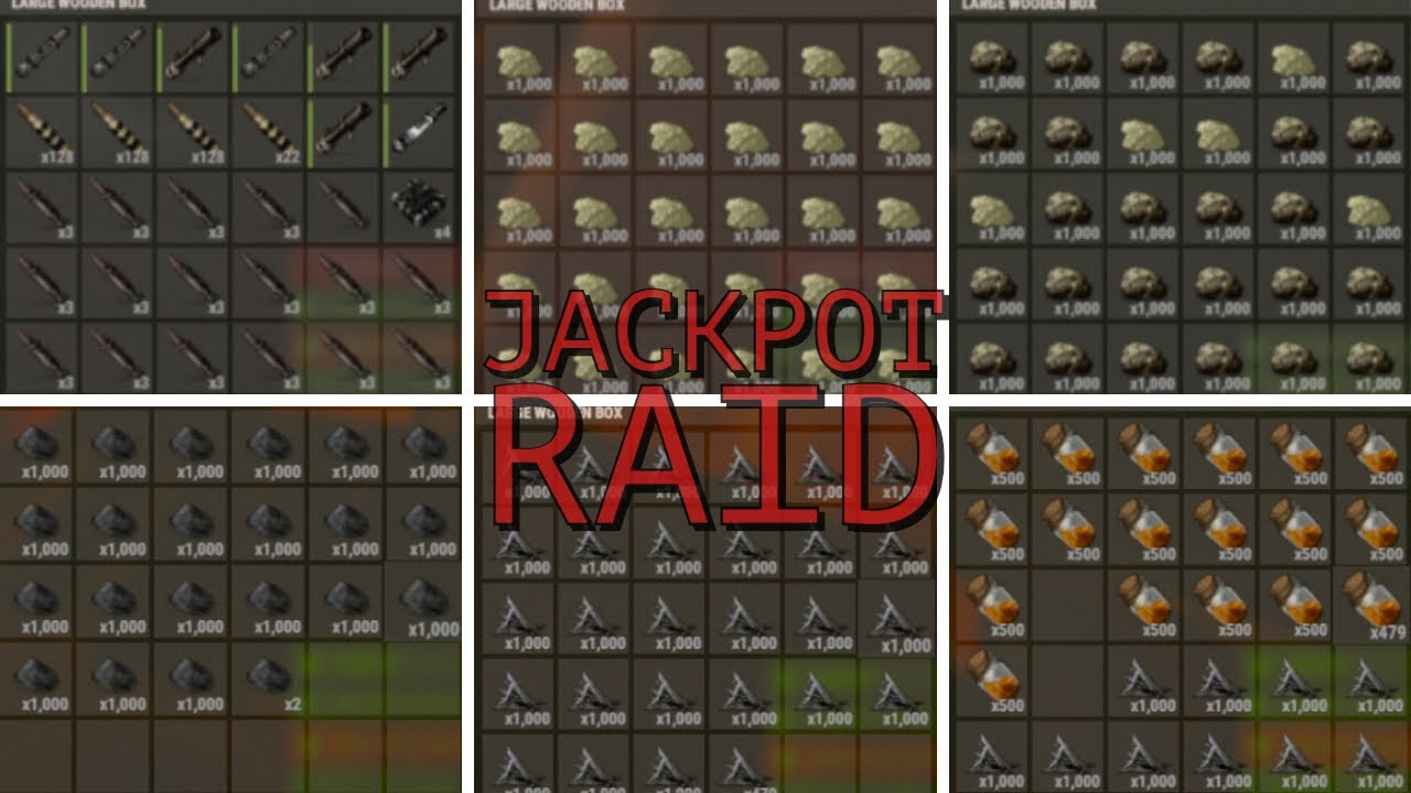 Rust | Countering And Finishing The JACKPOT Raid!