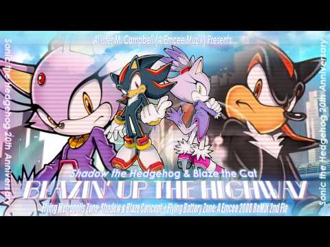BLAZIN' UP THE HIGHWAY -  Flying Battery Zone 2008 ReMiX 2nd Flo! 1080p