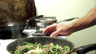 Beef Stir-fry Asparagus Tips Wild Rice 2/3 Chef John The Ghetto Gourmet