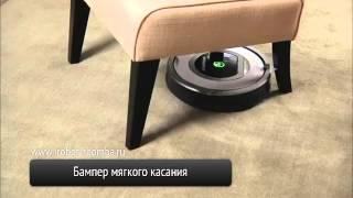 iRobot Roomba - Видео на русском языке. Робот пылесос Айробот.(Робот пылесос iRobot Roomba. Официальное видео на русском языке. Видео от официального интернет-магазина http://irobot-r..., 2012-05-29T18:58:04.000Z)