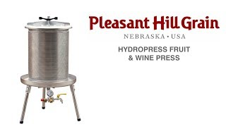 Hydropress fruit & wine press