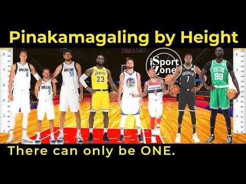 Sino Ang PINAKA MAGAGALING na NBA Players sa BAWAT Sukat ng Height?