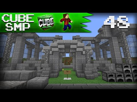 Minecraft Cube SMP: CUBE NATIONAL BANK! - Ep 48