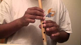 "Roop Tera Mastana - Hindi song on flute - ""Travails with my flute"""