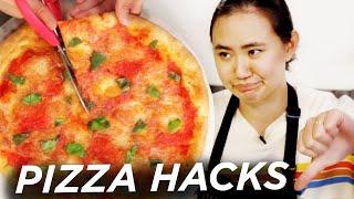 I Made Pizza Using 15 Hacks In A Row Tasty