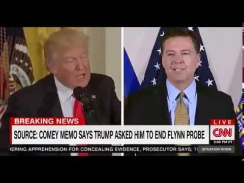 Comey Memo Says Trump Asked Him to End Flynn Investigation FULL rolling Coverage