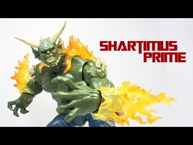 Marvel Legends Ultimate Green Goblin BAF Build a Figure The Amazing Spider Man 2 Movie Wave Figure R Travel Video