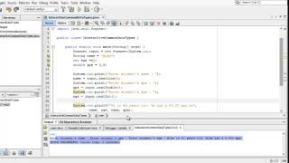 Learn Programming in Java - Lesson 02 : Variables, Data Types and Assignment. thumbnail