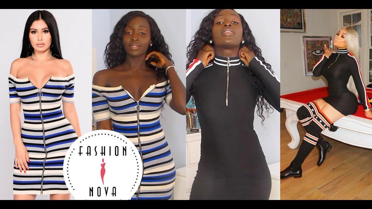 58e7f828012 ME or BLAC CHYNA    WHO WORE IT BETTER - FASHION NOVA HAUL - YouTube