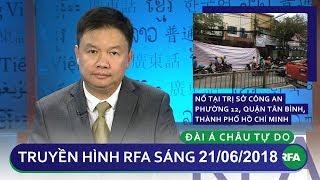 Tin tức thời sự: Nổ tại Trụ sở công an phường 12, quận Tân Bình một nữ công an bị thương
