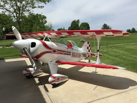 Pitts Kingcraft Pitts Special S 2b 1200mm Build Par