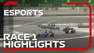 F1 Esports Pro Series 2019: Race One Highlights