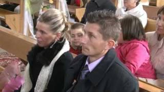 WESELE - ANGELIKA I MICHAŁ- KOŚCIÓŁ , KAZANIE  (HD).