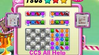 Candy Crush Saga Level 1808 NO BOOSTERS