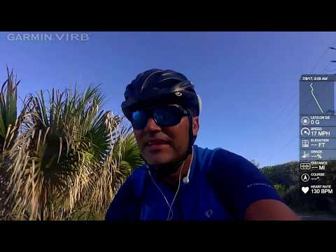 Cycling Manasota Beach