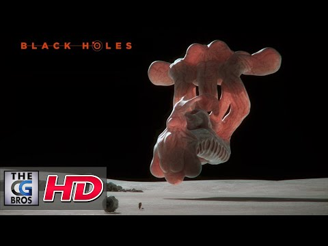 "CGI 3D Animated Short: ""Black Holes - Le Bon Alien""  - by Noodles Studio"