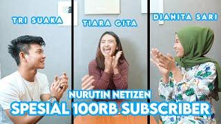 Download NURUTIN PERMINTAAN NETIZEN !!! SPESIAL 100RB SUBSCRIBER TRI SUAKA DAN DIANITA SARI