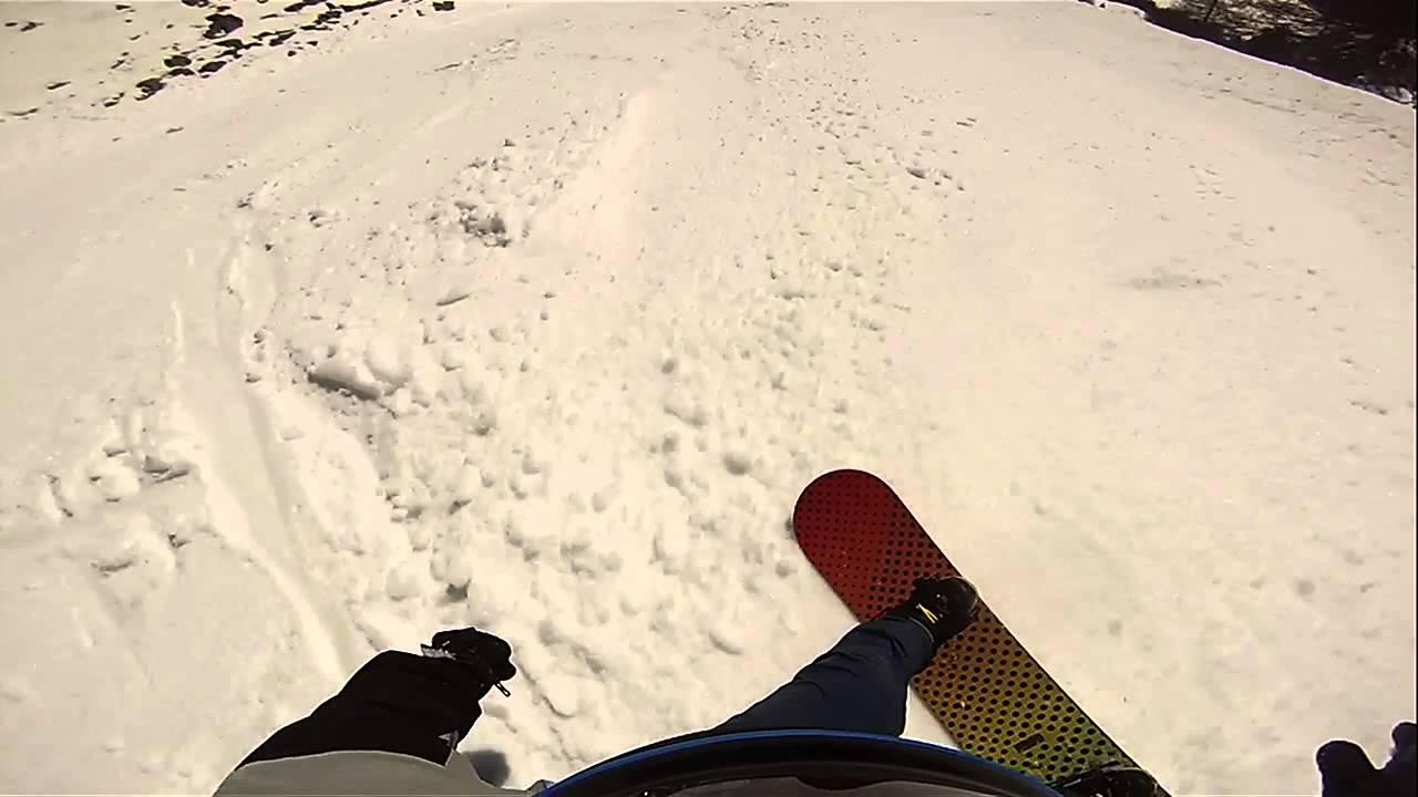 Pejo 3000 - discesa integrale - snowboard