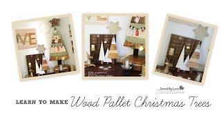 Make A Wood Pallet Christmas Tree