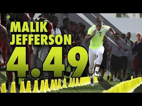 Malik Jefferson - 449 40 Yard Dash   The Opening