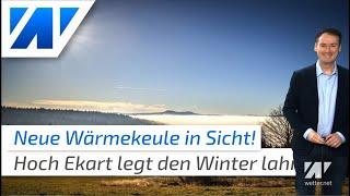 Winter k.o.! Neue Wärmekeule bringt am Wochenende über 10 Grad, kein Schnee in Sicht!