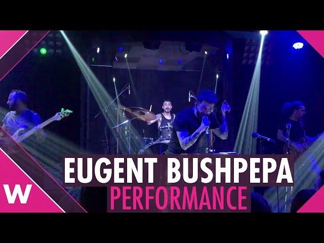 "Eugent Bushpepa ""Livin' On A Prayer"" - Live @ Diesis Music Hall, Tirana | wiwibloggs"