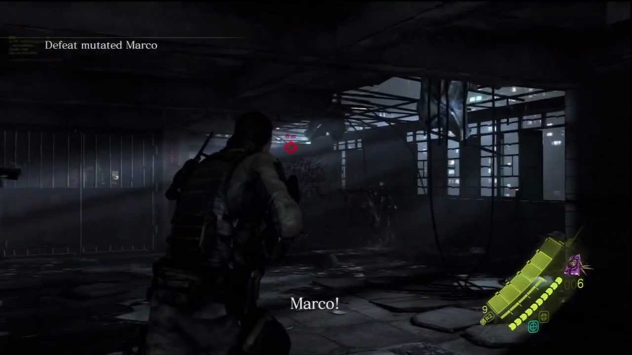 Resident Evil 6 HD - Defeat Mutated Marco - Track Ada Wong - YouTube