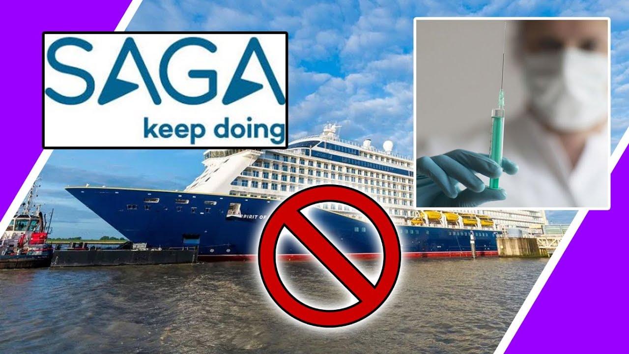 Saga Holidays TO REFUSE Customers With NO JAB / Hugo Talks #lockdown
