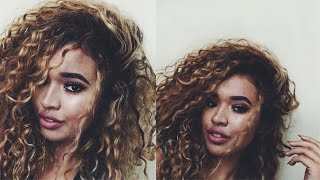 Curly Hair Routine for Natural Hair | Summer 2016