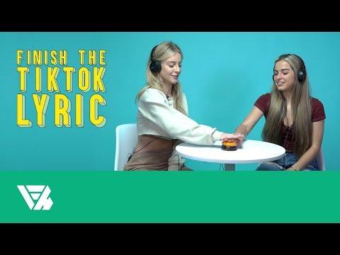 Addison Rae And Daisy Keech | Finish The TikTok Lyric