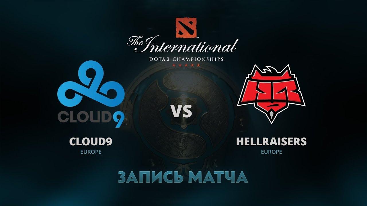 Cloud9 против HellRaisers, Первая игра, Групповой этап The International 7