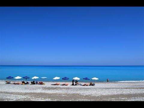 Best beaches in Rhodes , Greece Rodos Summer 2016