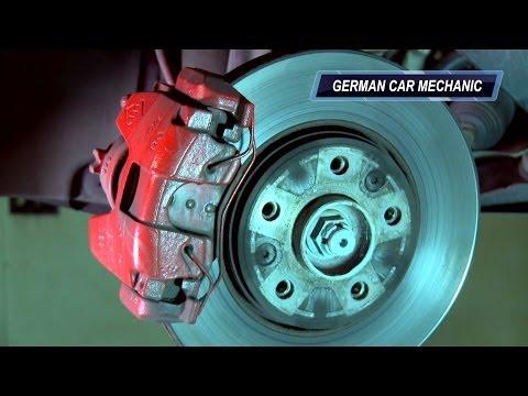 Ролик  RENAULT MEGANE 3  Замена передних тормозных колодок и дисков.How to Replace Disc Brakes.