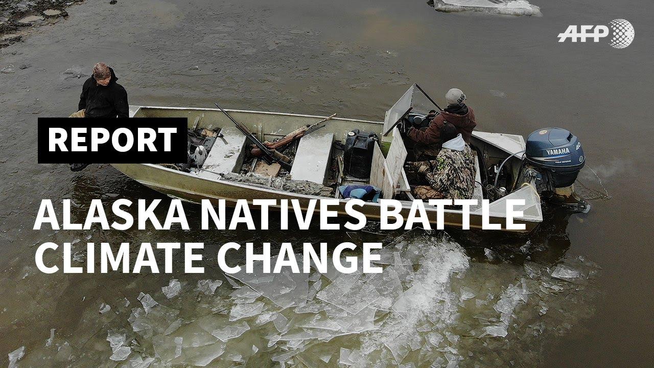 ALASKA - MAY 2019: Alaska natives feel the heat of climate change | AFP