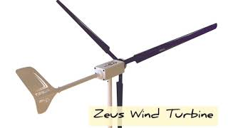Wind Turbine Zeus 3.0 at work