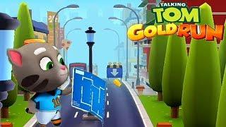 Talking Tom Gold Run Football Tom Android Gameplay #1