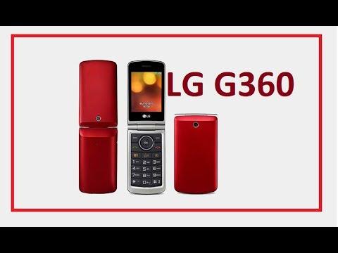 обзор раскладушка LG G360  кнопочный телефон