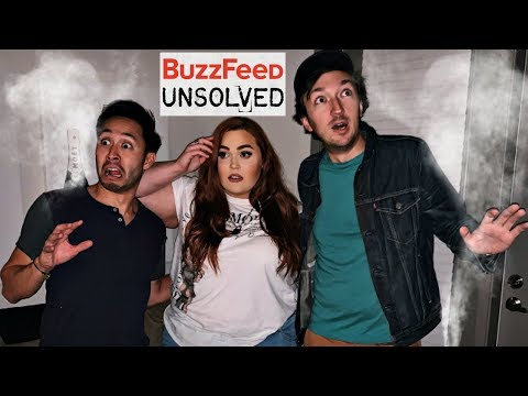 Ghost Hunting in my Haunted Apartment... with Buzzfeed Unsolved Supernatural