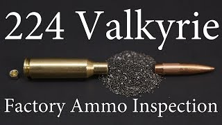224 Valkyrie Factory Ammo Inspection